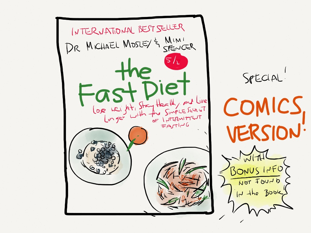 The Fast Diet Comics Version With Bonus Info Not Found in the Book!