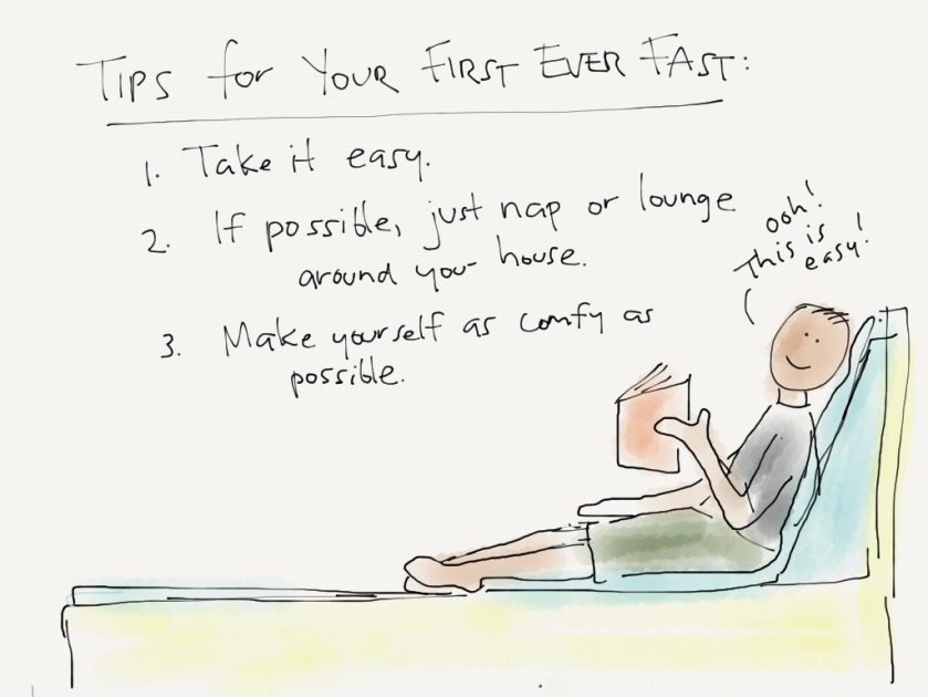 tips for your first ever fast day
